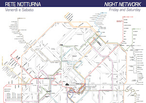 Print the night network map